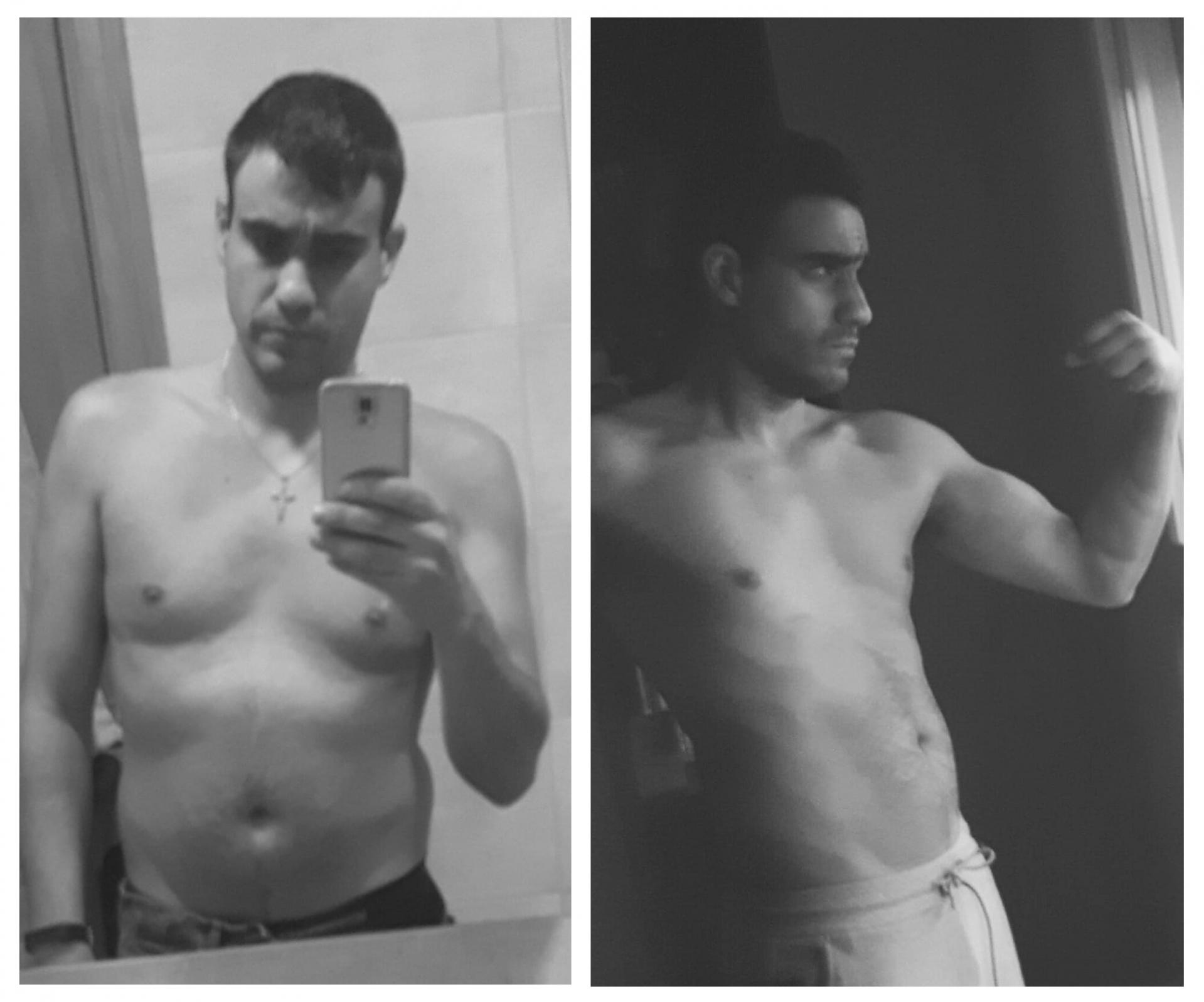 Jose Tarazona antes y después
